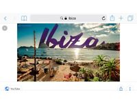 Flights to Ibiza from Belfast (fri-Sunday) for 2 people