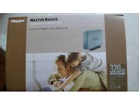 Maxtor Basics 320 GBit hard disk