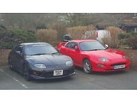 Two Mitsubishi FTO's (both mot failures)