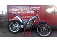 Road registered gasgas txt pro 300 trials bike px trials Mx Enduro road delivery gas gas