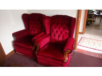 GOOD CONDITION ARMCHAIRS