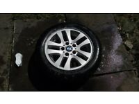 bmw alloy wheel with tyre for e90 2005-2011