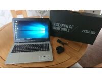Asus X555UA Laptop i7 Boxed like new unmarked condition,full hd,2tb hard drive,12gb memory