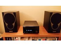 Denon RCD-M38 DAB - Microsystem CD Player System - WITH Mission MX1 Speakers - Excellent Condition