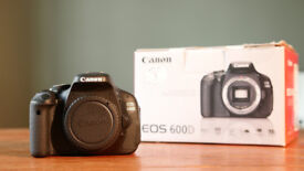 Canon 600D Digital SLR (Body only)