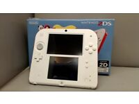 NINTENDO 2DS CONSOLE WITH CHARGER 6 MONTHS WARRANTY