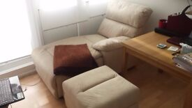 Chaise unit and Storage Stool- brand new, just purchased