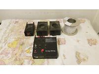 Par Cans, Le Maitre Pyrotechnics Kit, Active Monitors