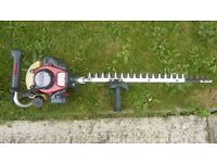 Kawasaki professional hedge cutter very powerful cost £400 see photo 2