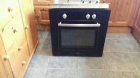 Black built in single oven fan assisted £85 delivered
