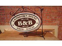 Shop/Restaurant/Business/ B&B Sign