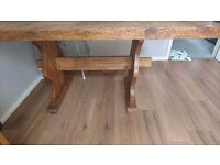 Mexican pine table from durham pine