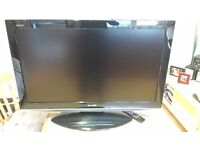 "SHARP AQUOS 37"" TV WITH STAND"