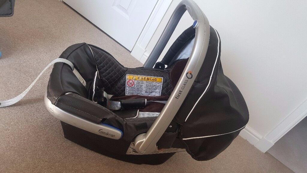 Emmaljunga First Class 0 Base Car Seat In Larkhall South