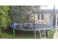 14ft trampoline hardly used