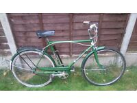 vintage 1974 3 speed puch touring bike