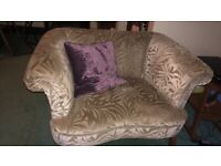 Large love seat