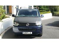 T5 trendline vw transporter 2.0 tdi panal van in night metallic blue. 1 owner. 48000miles. £15350.
