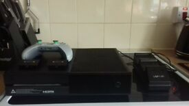Xbox One With Grey Controller etc...