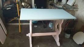 Shabby pub table