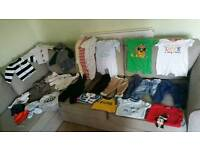 Large bundle of 3-6 6-9 and 9-12 baby boy clothes