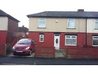 3 bed house to let in Leigh WN7. Off road parking and good sized garden. £475 per month.