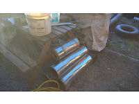 twin wall flue pieces 6 inch