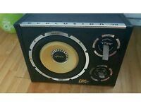 1600 watt vibe sub with built in amplifier