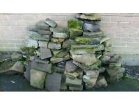 Rockery stone for landscape garden or pond
