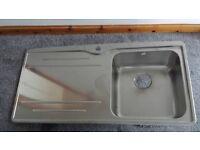 Carron Phoenix Aria 100 Stainless Steel Inset Sink