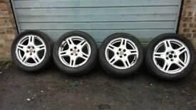 "Subaru alloy wheels 16"""