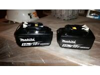 Makita 5a batteries