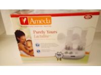 Ameda yours Lactaline Electric double breast pump