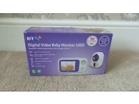 BT Digital Video Baby Monitor 1000 (original box and packaging) - £55 ONO