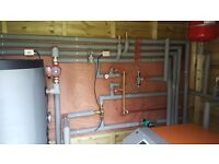 Plumber, heating, general maintenace, biomass boiler service, air source heat pump installation, oil