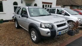 Land Rover Freelander Adventurer