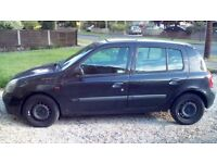Renault Clio 1.2 - Fresh out of MOT!