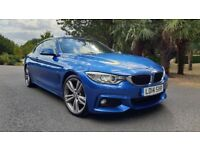 BMW 4 SERIES 420D M SPORT 2014 AUTO 2DR COUPE FINANCE AVAILABLE