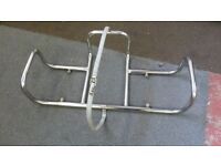 liferaft boat stainless steel cradle mount (adjustable)