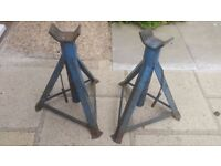 PROFESSIONAL Large Axle Stands Jack Stands - Collection only.