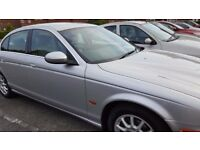 JAGUAR S Type,2.5 L,PETROL,AUTOMATIC ,ONLY ONE PREVIOUS OWNER,with service Hisstory