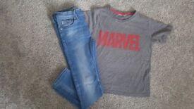 Boy's clothes age 7-9