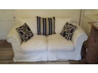 2 seater sofa with loose covers
