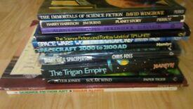 11 x sci fi collection - trigan empire / spacecraft 2100AD / space wars /