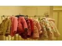 baby girl jacket bundle 6-12 mths