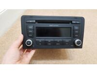 Audi a3 audi concert radio cd player mp3