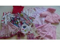 Baby girl summer clothes bundle 3-6 months. Excellent condition! Less than £1 per item.