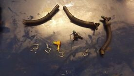 2008 FORD MONDEO S MAX GALAXY DIESEL RETURN PIPES AND CLIP HOLDERS FOR INJECTORS