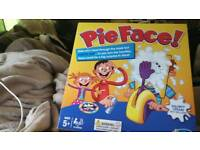 Pie face family game