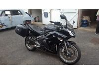 Lowered 2009 Kawasaki ER6F with A2 restriction option